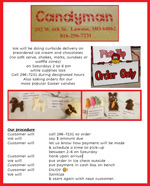 Download Candyman restaurant and food supply information